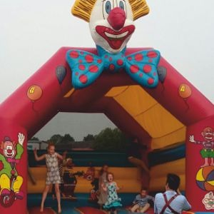 2603 Springkussen Clown
